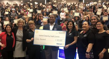 Western University Health Services, Walmart Donation