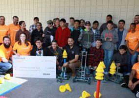Amazon Corona robot donation