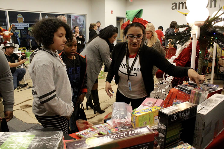 Amazon Donation Holiday Cheer