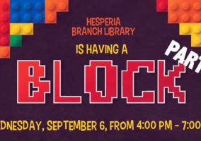 Block party - Hesperia