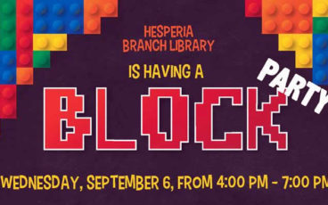 Block party - Hesperia