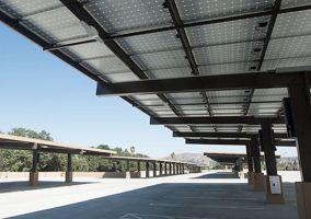 Cal Poly Pomona Parking, Solar