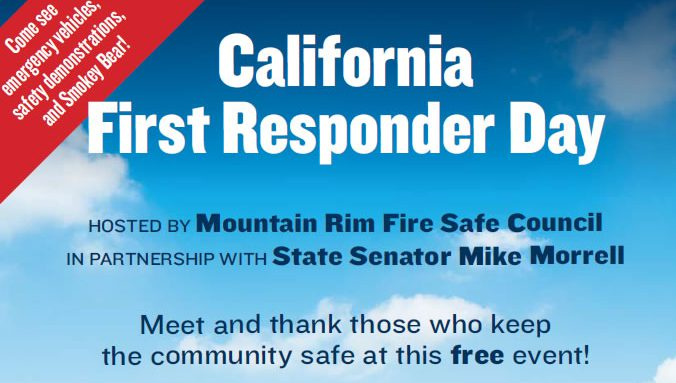 California First Responder Day