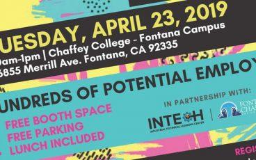 Chaffey College - Intech Center Job Fair