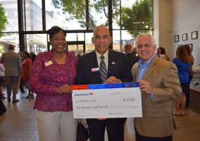 Children's Fund Donation from Bank of America