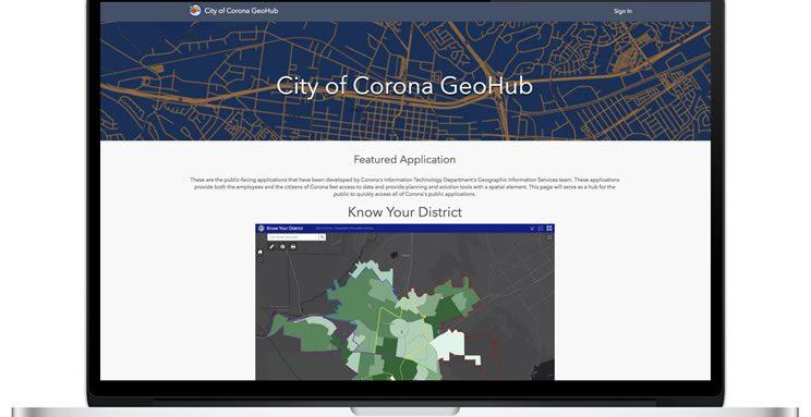 Corona GeoHub