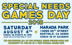 Special Needs Day Eastvale