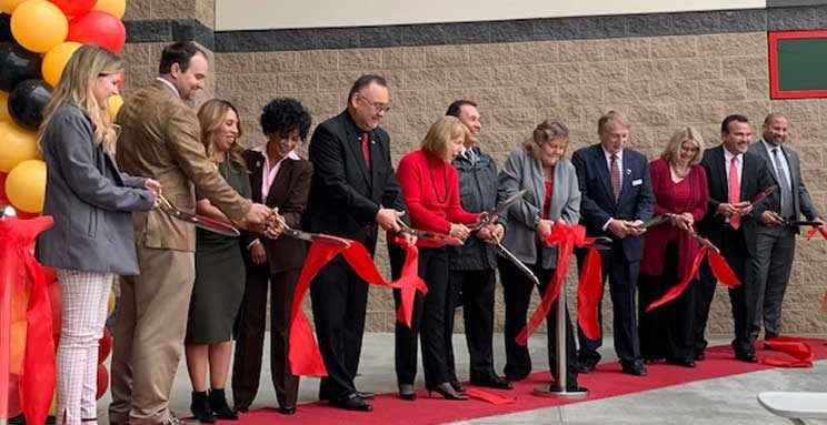 Etiwanda High School Ribbon Cutting