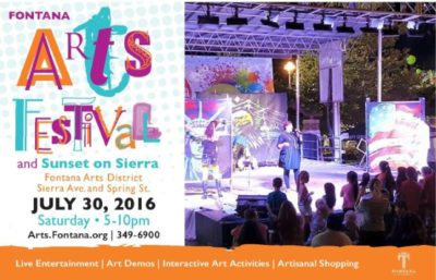 Art Comes Alive at the Fontana Arts Festival