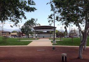 Miller Park in Fontana, Amphitheater