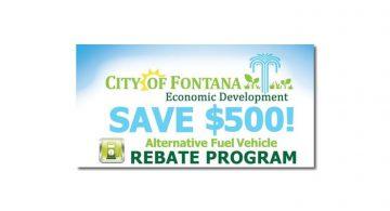 Fontana Rebate Program