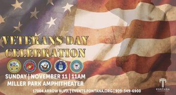 Fontana Veterans Day