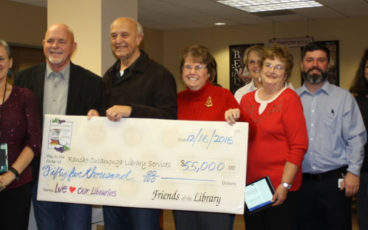 Donation by the Friends of the Rancho Cucamonga Library
