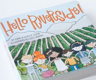 Hello Riverside board book