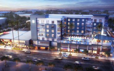 Hilton Hotel Riverside Downtown