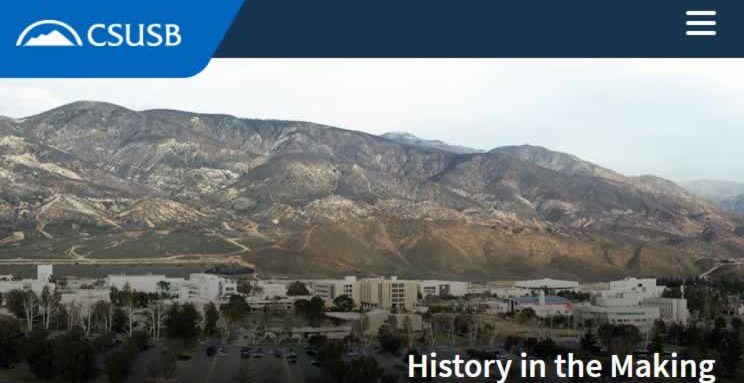 History in the Making, CSUSB