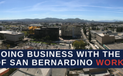 Doing Business With San Bernardino