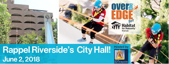 Over The Edge for Habitat for Humanity