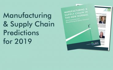 Manufacturing & Supply Chain Predictions for 2019