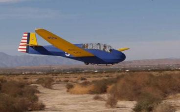 March Air Field glider