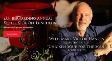 Mark Victor Hansen, Salvation Army San Bernardino