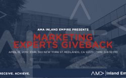 AMA Marketing Give Back