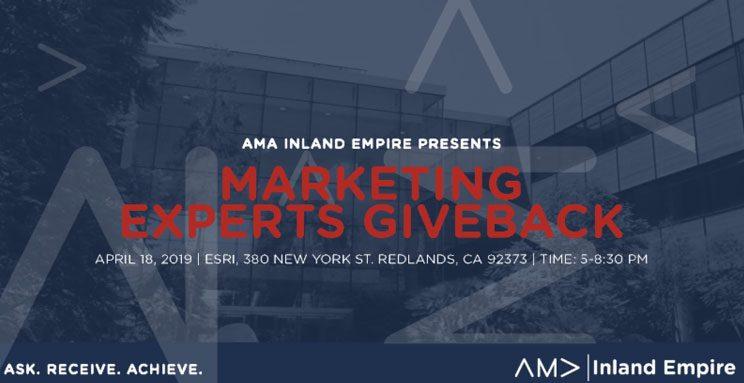 AMA Marketing Give Back