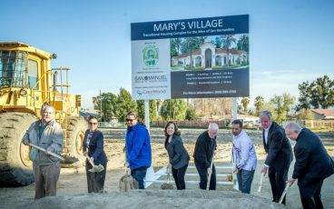 Mary Village Ground Breaking