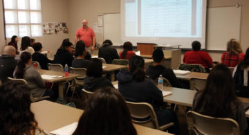 Mt. San Jacinto College classrom