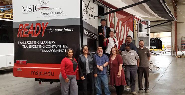 MSJC Workforce Bus