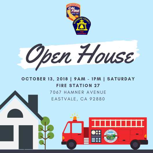 Eastvale Fire Department Open House