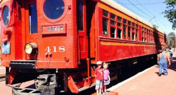 Orange Empire Railway Train