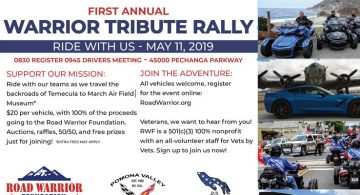 Pomona Valley Warrior Tribute Rally