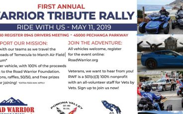 Pomona Valley Warrior Tribute Rally