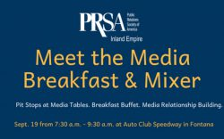 PRSA Inland Empire - Fontana - Meet the Media