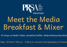 PRSA Inland Empire - Fontana - Meet the Media