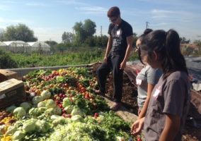 Rialto High Food Waste