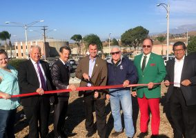 Riverside Treatment Plant Ribbon Cutting