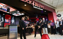 Rock and Brews in ONT airport