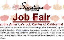 Saratoga Food Specialties Job Fair