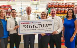 Stater Bros Leukemia & Lymphoma Check for $366,000