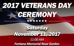 Fontana Veterans Day