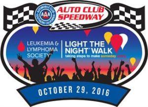 Light the Night Walk Auto Club Speedway